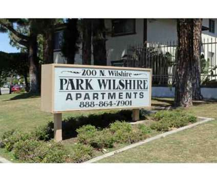 Studio - Park Wilshire at 200 N Wilshire Avenue Apartment 104 in Anaheim CA is a Apartment