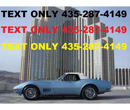 1968 Chevrolet Corvette Roadster is a 1968 Chevrolet Corvette Classic Car in North Las Vegas NV