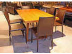 New Last One 600 Off Modern Dining Table W 6 Leather Chairs