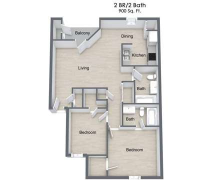 2 Beds - The Gables of Maumelle at 1500 Union Ct in Maumelle AR is a Apartment