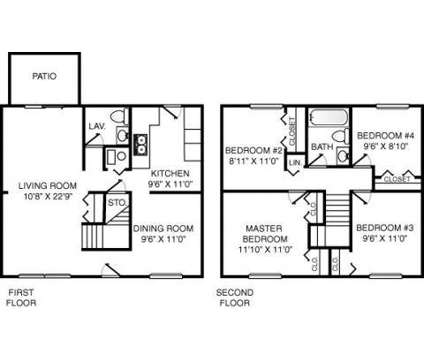 4 Beds - Eastpointe on the Mall at 3617 Lakepointe Drive in Northwood OH is a Apartment