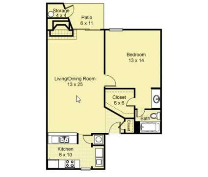 1 Bed - Parkridge Place Apartments at 1351 Andy St in Abilene TX is a Apartment
