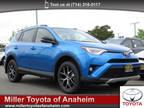 2016 Toyota RAV4 Blue, 47 miles