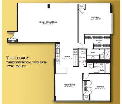 3 Beds - 555 Apartments, The at 555 S Old Woodward Ave in Birmingham MI is a Apartment