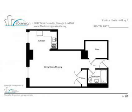 Studio - The Sovereign Apartments at 1040 West Granville Avenue in Chicago IL is a Apartment