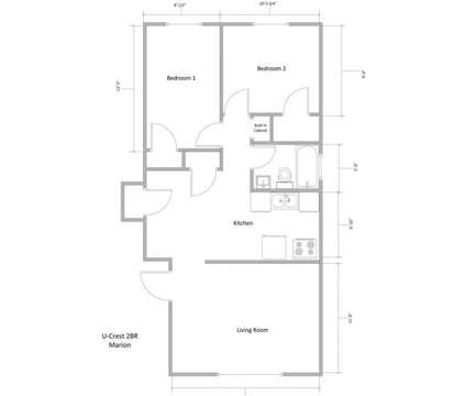 2 Beds - U-Crest Apartments at 1175 George Urban Boulevard in Cheektowaga NY is a Apartment