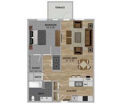 1 Bed - Residences at Carmel City Center at 720 S Rangeline Rd in Carmel IN is a Apartment