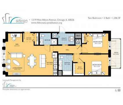 2 Beds - Albion at Loyola Station Apartments at 1219 W Albion Ave in Chicago IL is a Apartment