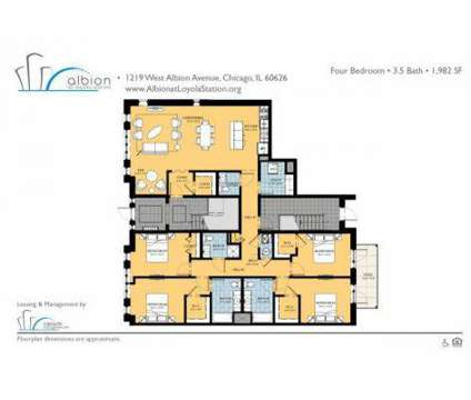 4 Beds - Albion at Loyola Station Apartments at 1219 W Albion Ave in Chicago IL is a Apartment