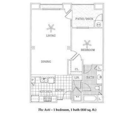 1 Bed - Villa Sorrento Senior Apartments at 434 Villa Avenue in Clovis CA is a Apartment