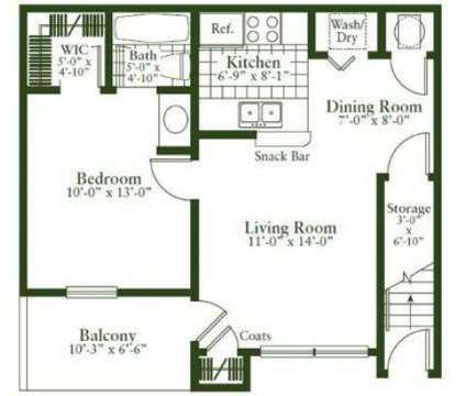 1 Bed - Stonehaven Apartments at 205 Chaparrall Creek Drive in Hazelwood MO is a Apartment