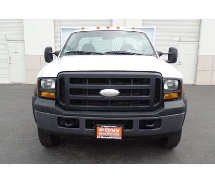 "2007 Ford F-550 XL 4 x 4 w/ New 10"" Flatbed and 104K. Mi. #B01053 is a 2007 Ford F-550 Truck Cab & Chassis in Carpinteria CA"