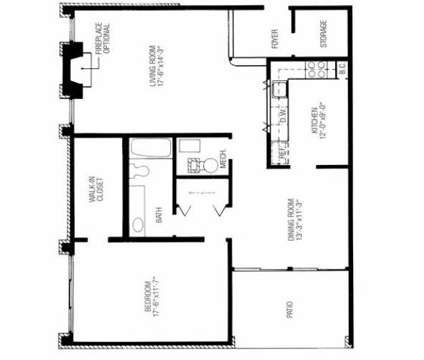 1 Bed - Hidden Lake Apartments at 1 Lincoln Place in North Brunswick NJ is a Apartment