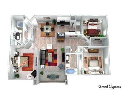 3 Beds - The Rexford at Waterford Lakes at 13001 Lake Cypress Cir in Orlando FL is a Apartment