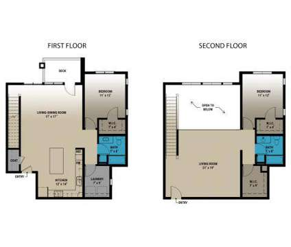 2 Beds - Brookside Apartments at Fallbrook at 7300 Tallgrass Parkway in Lincoln NE is a Apartment