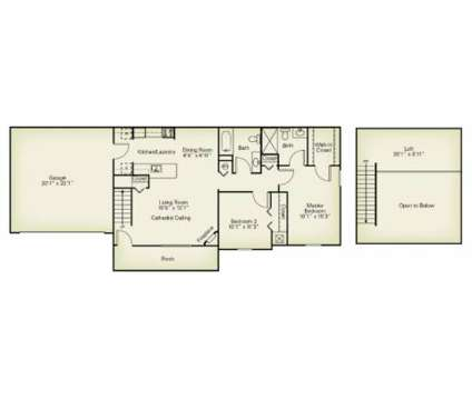 2 Beds - The Villas of Madison at 1840 Hubbard Rd in Madison OH is a Apartment