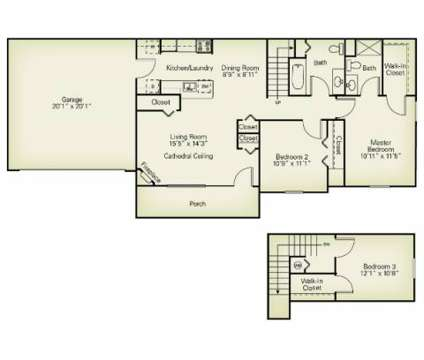 3 Beds - The Villas of Madison at 1840 Hubbard Rd in Madison OH is a Apartment