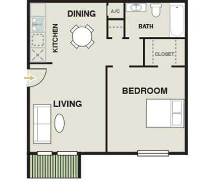 1 Bed - Carmel Creek at 6000 Hollister Road in Houston TX is a Apartment