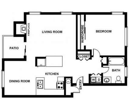 1 Bed - Nickel Creek at 3702 204th St Sw in Lynnwood WA is a Apartment