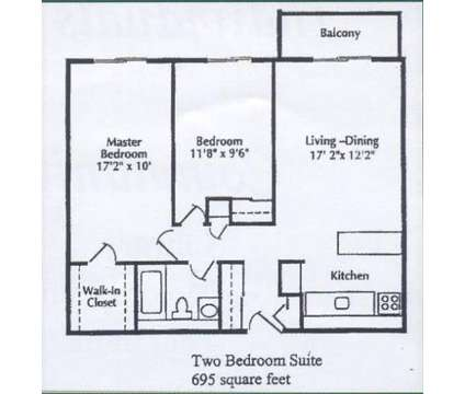 2 Beds - Center Line Park Towers Senior Apartments at 8033 East Ten Mile Rd in Center Line MI is a Apartment