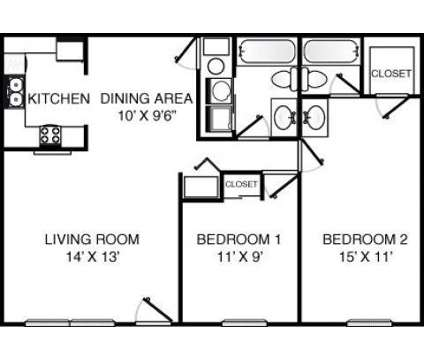 2 Beds - Findlay Village Square Apartments at 742 Longmeadow Lane in Findlay OH is a Apartment