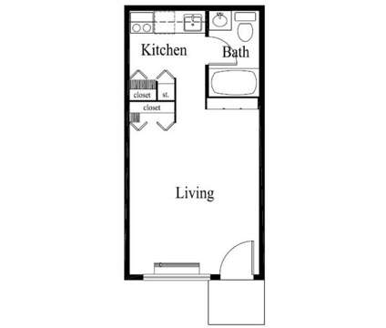 Studio - Ridgewood Apartments at 2170 Fort Harrods Dr #1 in Lexington KY is a Apartment