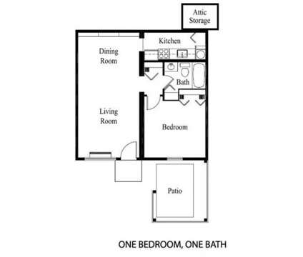 1 Bed - Ridgewood Apartments at 2170 Fort Harrods Dr #1 in Lexington KY is a Apartment
