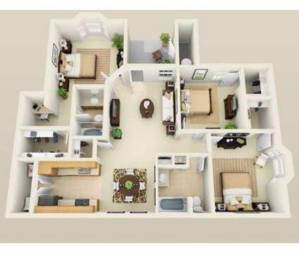 3 Beds - Reserve at Squirrel Run at 2118 W Old Spanish Trail in Singer LA is a Apartment