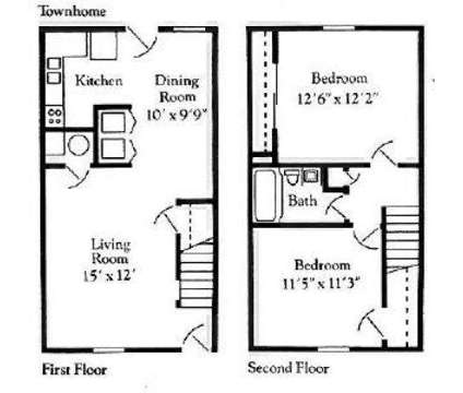 2 Beds - Newcastle Townhomes at 6797 Springhouse Ln in Columbus OH is a Apartment