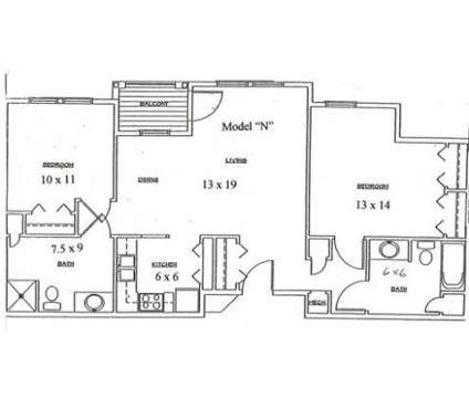 2 Beds - Court Street Commons - Independent Living for 55+ at 800 East Ct St in Flint MI is a Apartment
