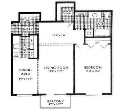 1 Bed - Bloomfield on the Green Apartments at 2510 Woodrow Wilson Blvd in West Bloomfield MI is a Apartment