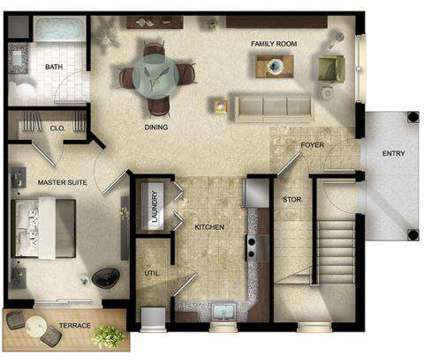 1 Bed - The Gardens at Jackson Twenty One at 311 Summerfield Ln East in Jackson NJ is a Apartment