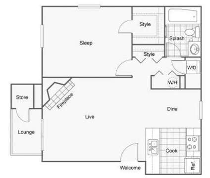 1 Bed - Velo Apartments at 3481 S Fenton St in Denver CO is a Apartment