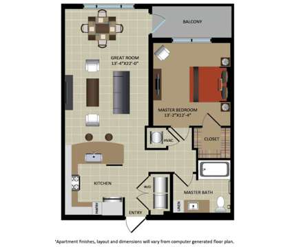 1 Bed - Gables Aventura at 20081 Ne 26th Avenue in Aventura FL is a Apartment
