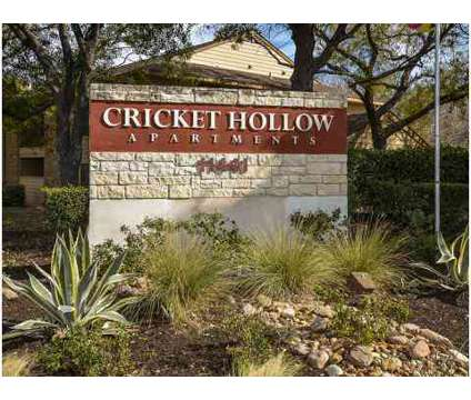 1 Bed - Cricket Hollow at 11441 Ih-35 North in Austin TX is a Apartment
