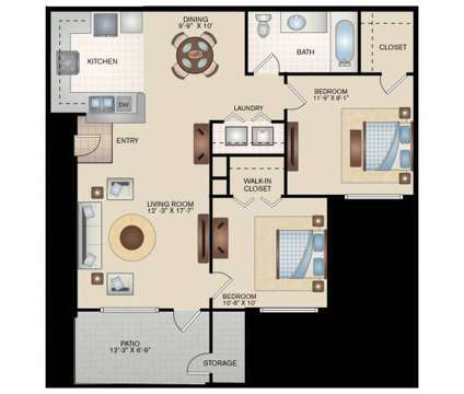 1 Bed - Cienega Linda at 7614 Laguna Del Mar Ct in Laredo TX is a Apartment