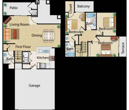 3 Beds - The Colony Townhomes at 17621 Pauline Ct in Santa Clarita CA is a Apartment