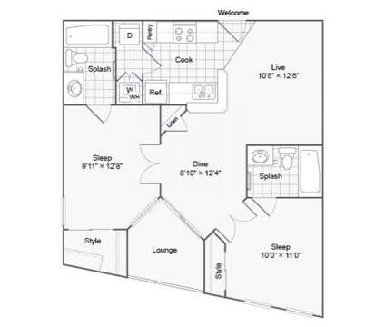 2 Beds - The Urban Apartment Homes at 3601 East Mcdowell Rd in Phoenix AZ is a Apartment