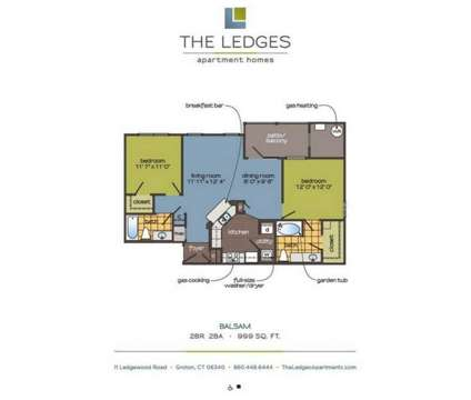 2 Beds - The Ledges Apartments at 11 Ledgewood Rd in Groton CT is a Apartment