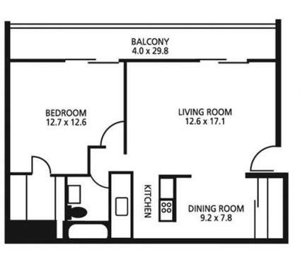 1 Bed - Lakeshore Drive Apartments & Health Club at 1 East Lakeshore Dr in Cincinnati OH is a Apartment