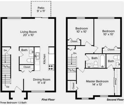 3 Beds - The Bronco Club Apartments at 3201 Michigamme Woods Dr in Kalamazoo MI is a Apartment