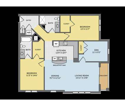 3 Beds - The Apartments at Cobblestone Square at 627 Cobblestone Cir in Fredericksburg VA is a Apartment