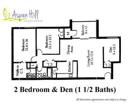 2 Beds - Aspen Hill at 13515 Georgia Avenue in Silver Spring MD is a Apartment