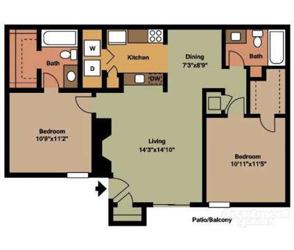 2 Beds - Sand Dollar on the River at 910 East 61st St in Tulsa OK is a Apartment