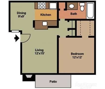 1 Bed - Lakewood Park Apartments at 3625 South Lakewood Ave in Tulsa OK is a Apartment