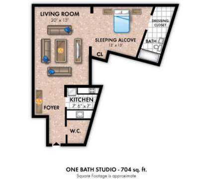 Studio - Towers of Windsor Park Apartment Homes at 3005 Chapel Avenue in Cherry Hill NJ is a Apartment