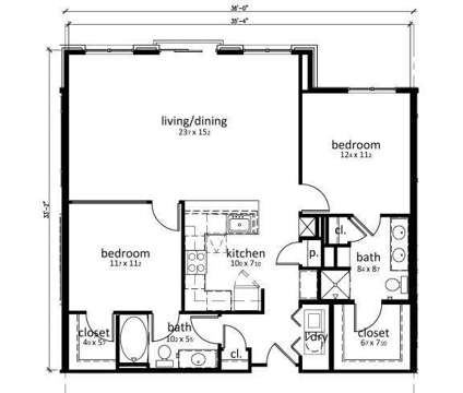 2 Beds - The Olivia on Main at 1111 West Main St in Carmel IN is a Apartment