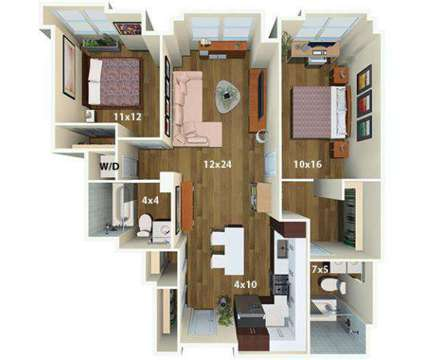 2 Beds - One Canal Apartment Homes at 1 Canal St in Boston MA is a Apartment