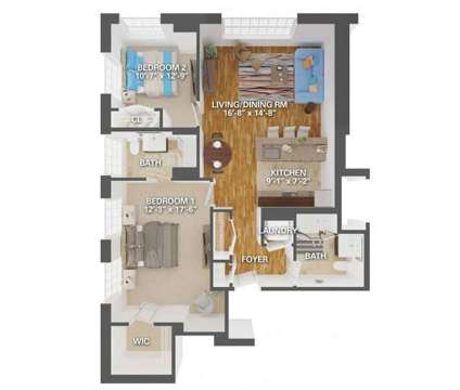2 Beds - Lofts at Helmetta at 2100 Camelot Ct in Helmetta NJ is a Apartment