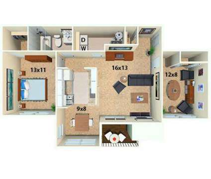 1 Bed - Hunter's Chase Apartments at 5200 Hunt Master Drive in Midlothian VA is a Apartment